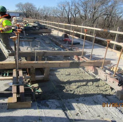 Scuppers Concrete, North Bridge
