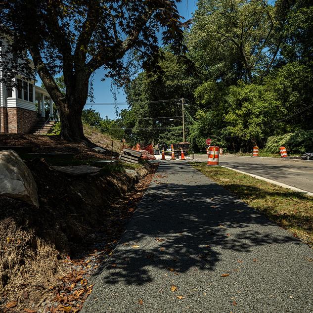 Oregon Avenue Phase 1 Progress Photos - 95% Completion