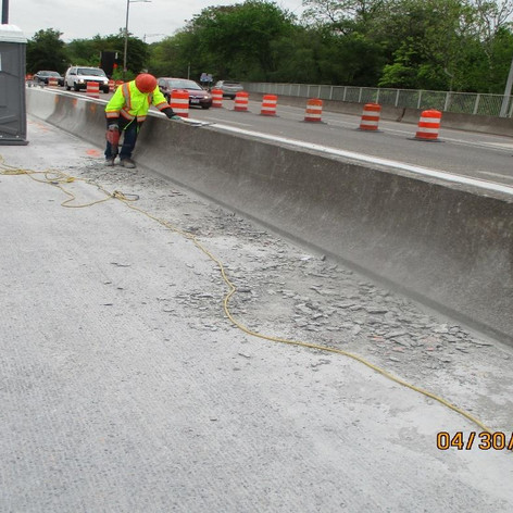 Detailing Milling Operations, North Bridge.