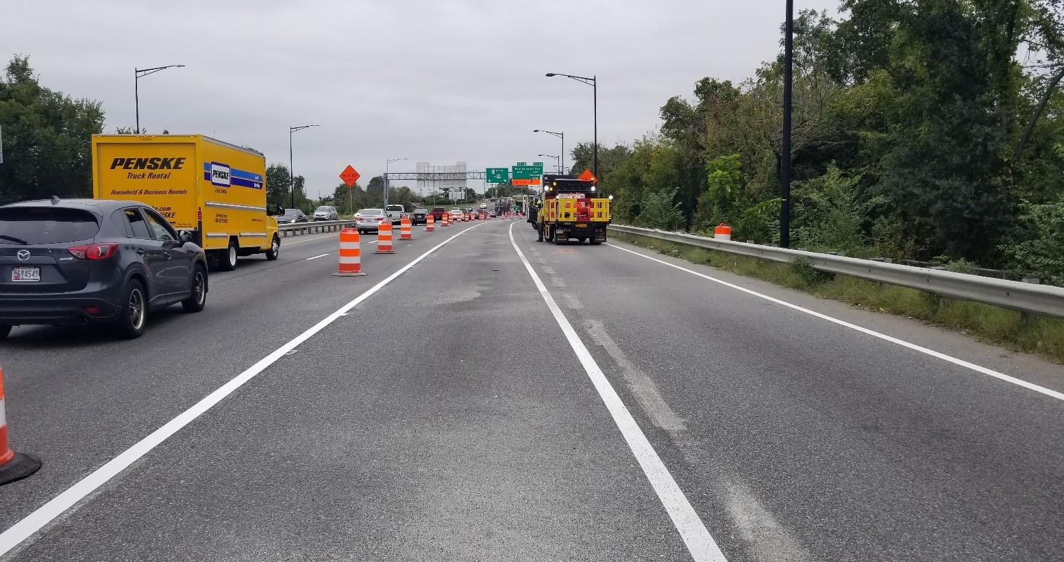 Marking Lane Closures