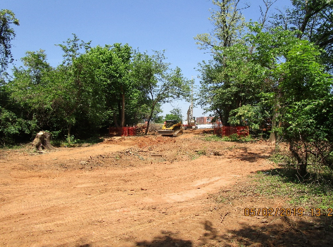 Clearing and Backfilling on NPS Property for Pedestrian Connection Path Construction