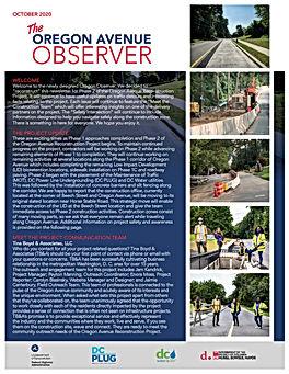 OregonAvenueProjectNewsletterOctober2020