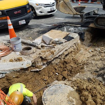 Installation of New Water Service Line between R and S Street