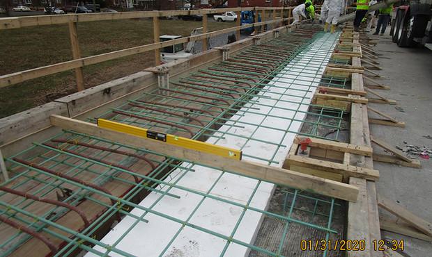 North Bridge Concrete Rebars