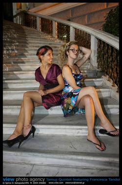 With Francesca Tandoi