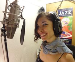 At the studio