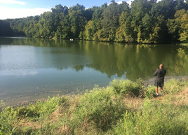 Johnson state park fishing