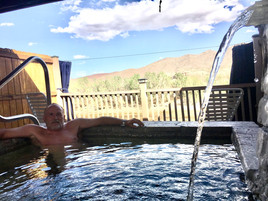 Truth or Consequences, New Mexico  Riverbend Hot Springs Resort