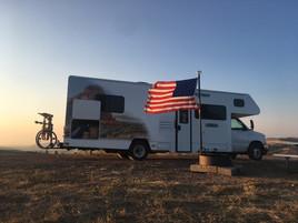 Biking at Gowdy in Wyoming