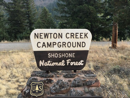 Newton Creek US Forest Service Campground Yes, Yellowstone No