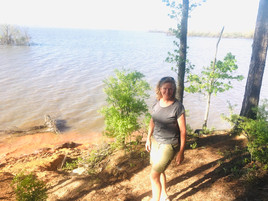 Potters Creek Campground at  Canyon Lake Texas