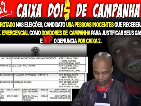 Derrotado pela 3ª vez, Capoeirááá é condenado pela justiça por caixa 2