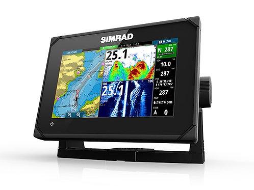 Simrad GO 7 XSE kombiplotter med HDI transducer