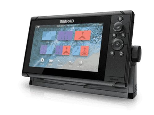 Simrad Cruise-9, Kombinert kartplotter/GPS/ekkolodd (83/200 XDCR)