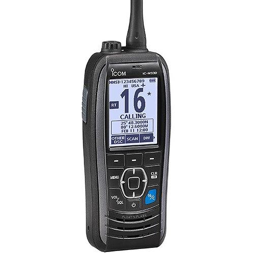 IC-M93D Icom bærbar VHF M/GPS OG DSC