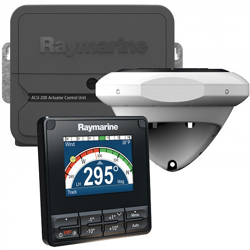 Raymarine Evolution autopilot EV200 for seilbåt, med P70s display, u/drivenhet