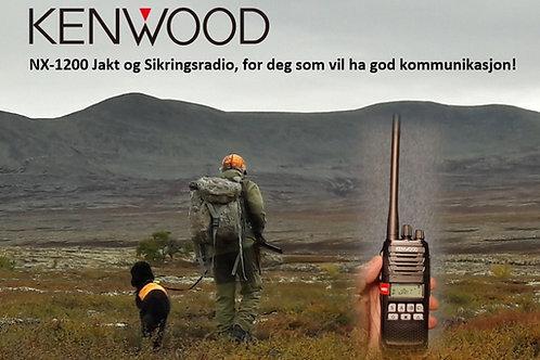 KENWOOD NX-1200DE2 Jaktradio (vi kan også legge inn sikringskanaler)