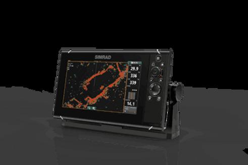 NSSevo3 Simrad 9tommer m/GPS, ekkolodd & Wi-Fi (uten svinger)