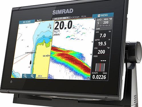Simrad GO9 XSE inkludert Medium/High/DownScan transduser