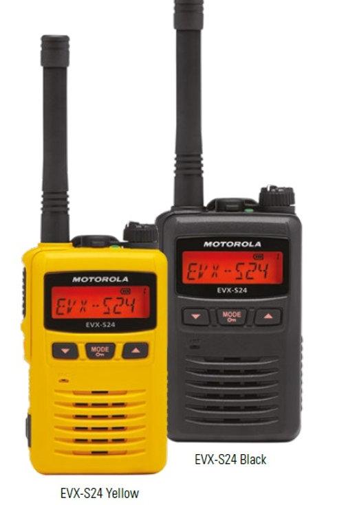 Motorola  EVX-S24 PMR UHF radio