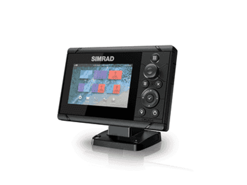 Simrad Cruise-5, Kombinert kartplotter/GPS/ekkolodd (83/200 XDCR)