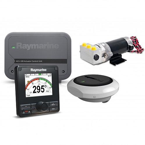 Raymarine EV-100  komplett hydraulisk pilot for motorbåt