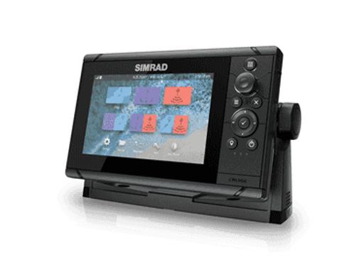 Simrad Cruise-7, Kombinert kartplotter/GPS/ekkolodd (83/200 XDCR)