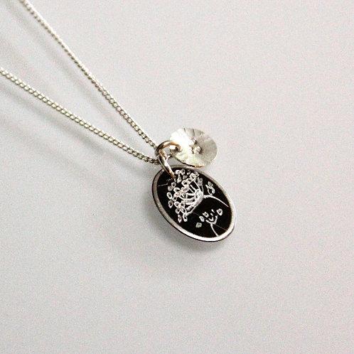 Petite Queen Anne's Lace Necklace
