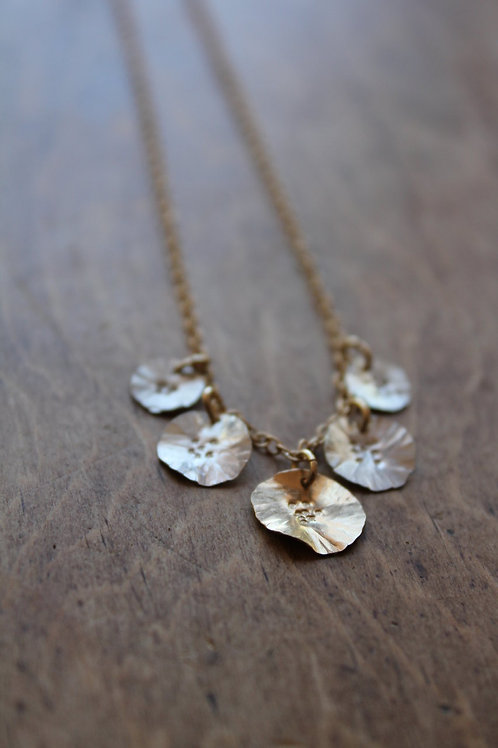 Five Daisy Necklace