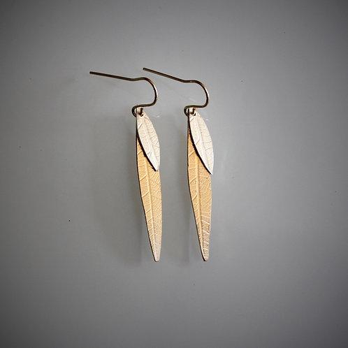 Two Fallen Leaves Earrings