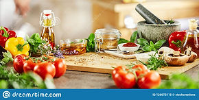 panorama-banner-fresh-culinary-herbs-spi