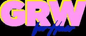 GRWforHair_LogoBLUScript.png