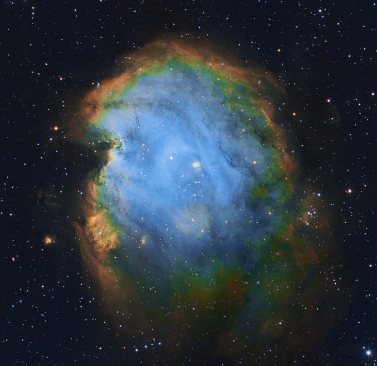 NGC 2174 The Monkey Head Nebula
