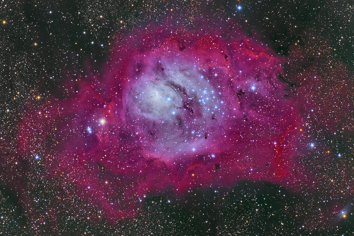 M8 The Lagoon Nebula