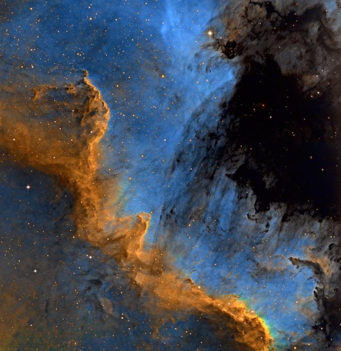 NGC 7000 The Cygnus Wall