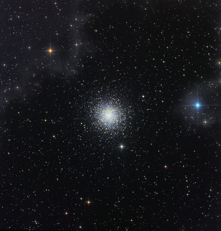 M15 Globular Cluster with IFN