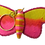 Thumbnail: Butterfly Key Chain