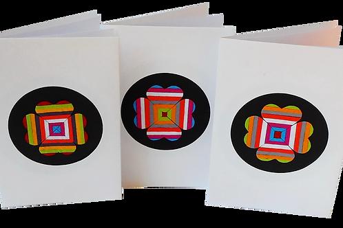 Four Heart Clover Cards