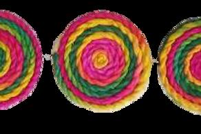 Fridge Magnets - String Spirals