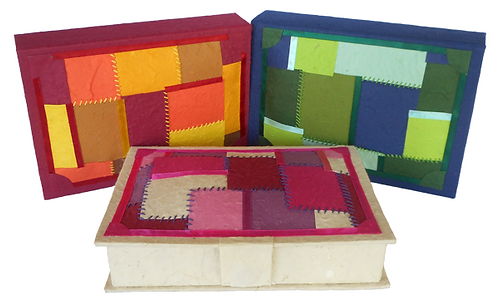 Patchwork Keepsake Boxes