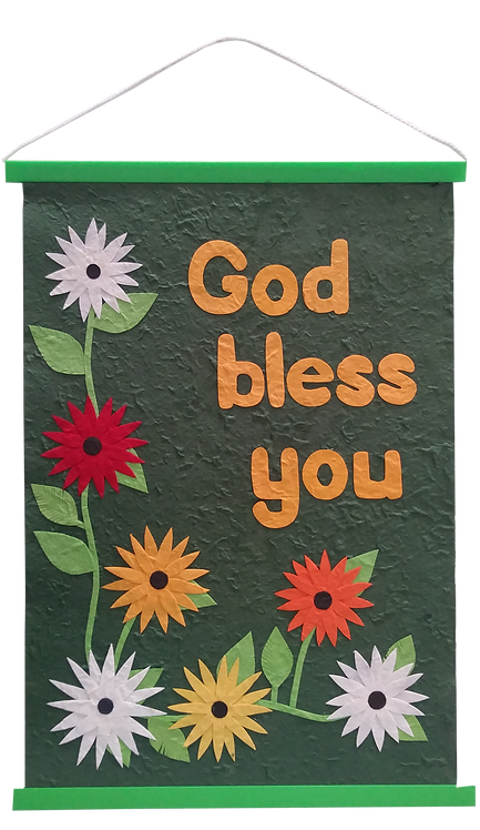 Wall hanging - God Bless You