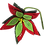 Thumbnail: Poinsetta - Pack of 4