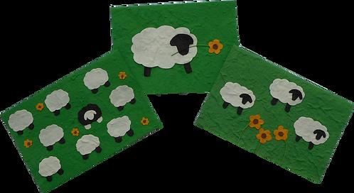 Grazing Sheep Cards