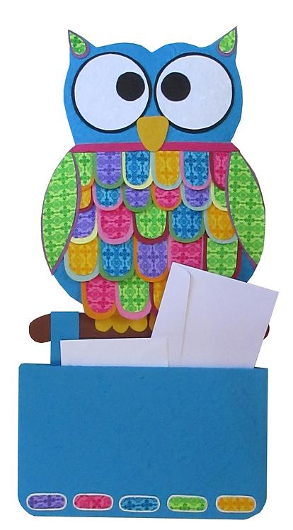 Owl organizer mobile