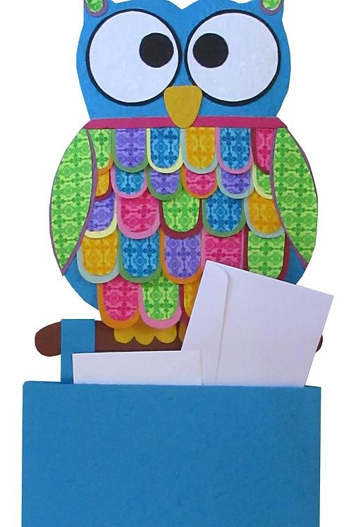 Owl Letter holder