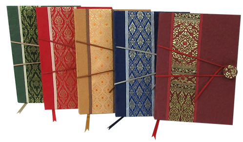 Thai Fabric Notebooks