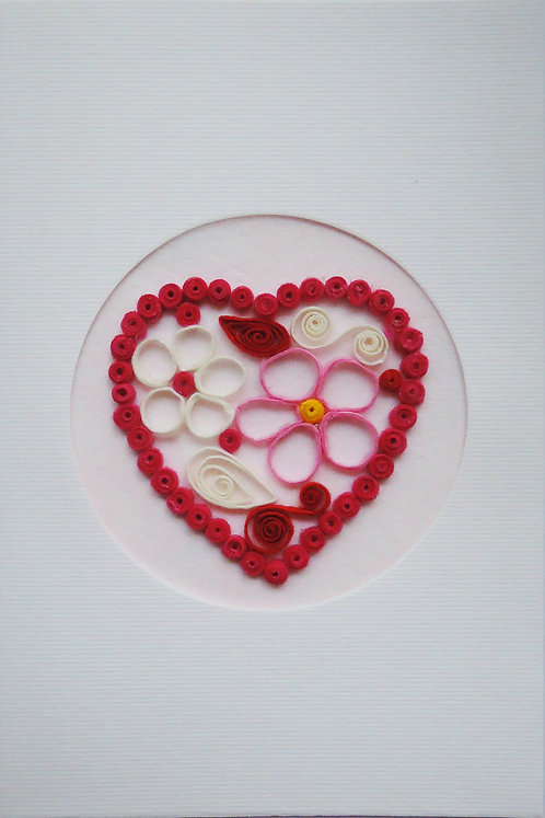 Heart Cards - Quilled on card stock