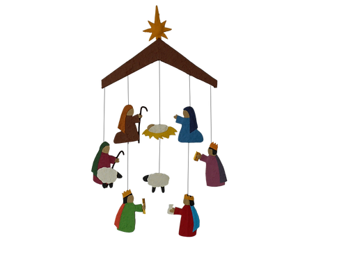 Nativity for the Wall - Mobile