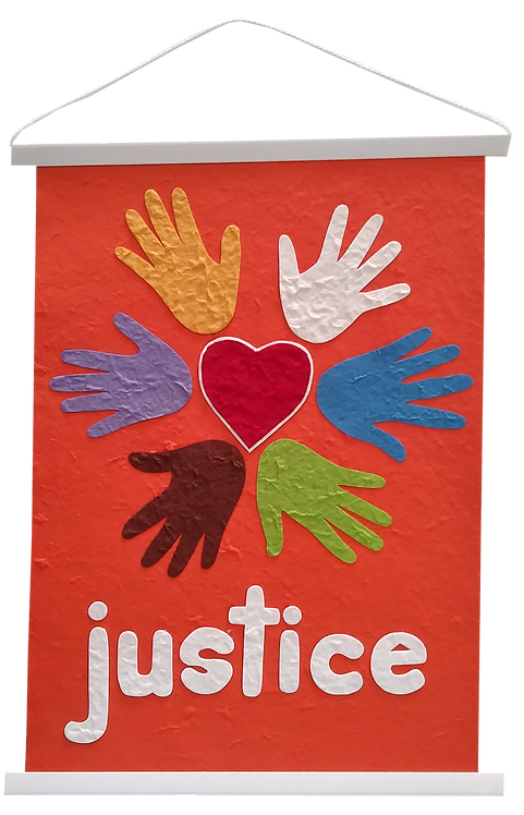 Wall hanging - Justice
