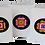 Thumbnail: Four Heart Clover Cards
